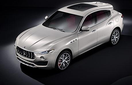 Опубликовано первое изображение кроссовера Maserati Levante