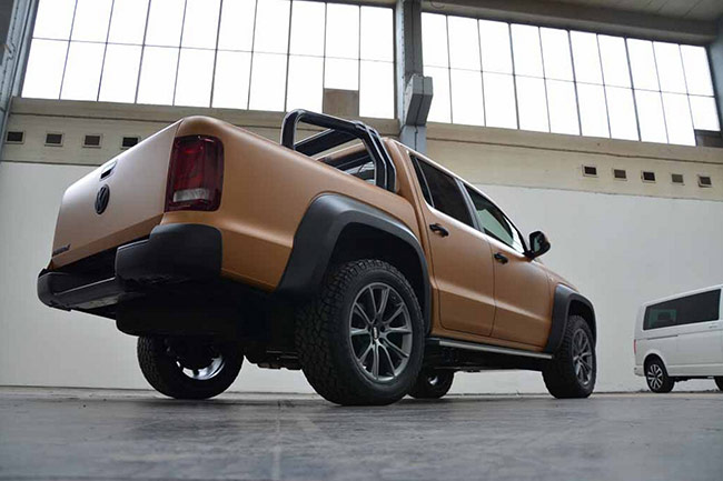 Volkswagen Amarok V8 Desert Edition
