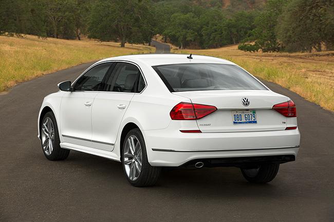 Обновлённый Volkswagen Passat