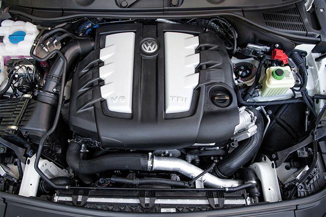 Трёхлитровый дизельный V6