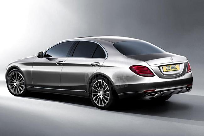 Рендер седьмого поколения Mercedes-Benz E-Class